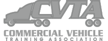Commercial Vehicle Training Association (CVTA) logo in grey