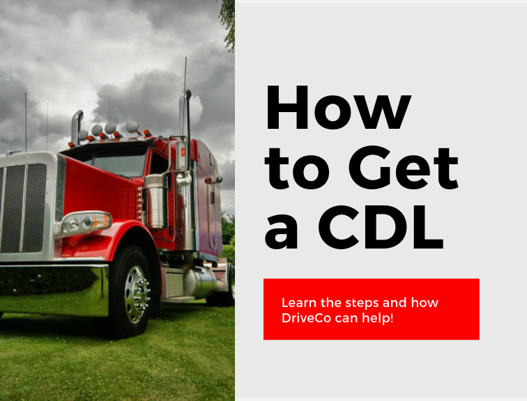 How to get a CDL graphic with a truck